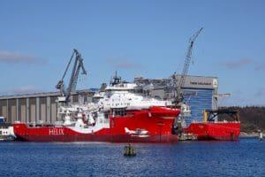 Werft der Schiffbaugesellschaft in Flensburg, Heimat der Fjordkommission