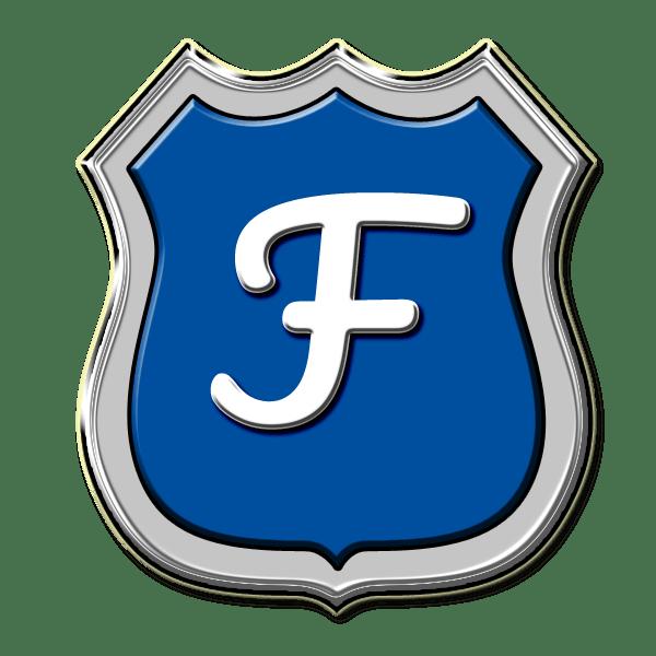 Das Dienstwappen der Fjordkommission in Flensburg
