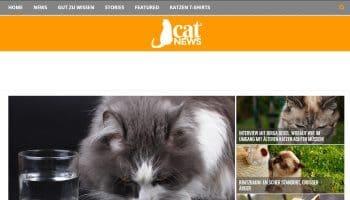 Ladezeitoptimierung für Cat-News.net