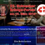 Erfolgsforum.org - Landing Page für eine große Vortragsveranstaltung in der Schweiz
