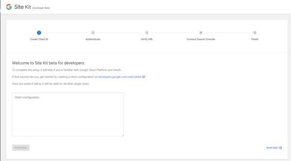 Search Console mit Google Site Kit verbinden