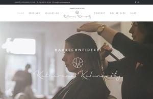 Website der Haarschneiderei Katharina Kalinowsky